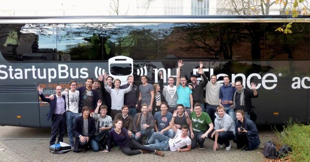 StartupBus Germany Group PIcture